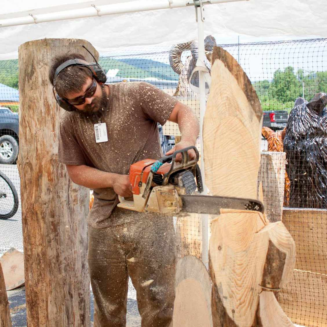 Chainsaw carvers rendezvous