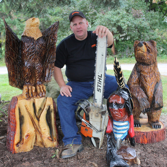 Carvers chainsaw rendezvous